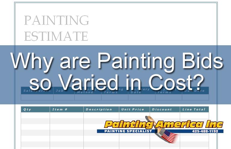 painting bids